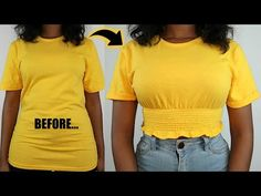 #womens#easystyle#trendy Shirt Transformation, Hey Gorgeous, Urban Outfitters, Crop Tee, Diy Fashion Hacks, Fashion Tips, T Shirts For Women, Inspired, Upcycle