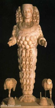 "Title:""Ephesian Artemis""  Museum Collection:Ephesus Museum, Selcuk, Turkey   Catalogue Number:TBA"