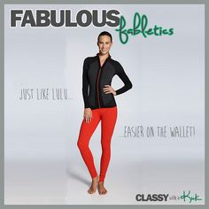 The Fabulosity of Fabletics - red leggings! Love them!