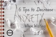 Six tips to help students who struggle with handwriting and writing assignments with feelings of anxiety and stress when faced with school assignments. Writing Therapy, Writing Classes, Math Solver, Writing A Term Paper, Business Continuity Planning, School Ot, Pediatric Occupational Therapy, Kids Writing, Creative Writing