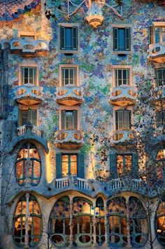 Gaudi's apartment ~ Barcelona ~ A work of art
