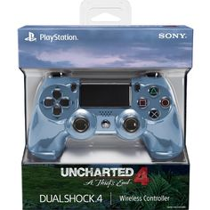 Uncharted 4: A Thief's End Limited Edition DualShock 4 Wireless Controller [PlayStation 4 Accessory]