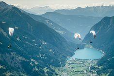 Alle 2 Jahre finden die Red Bull X-Alps statt.
