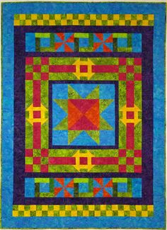 Monkey Bread Quilt Pattern TCQ-46 (advanced beginner, lap and throw)- Tammy Silvers- $9.00