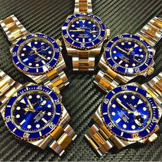 ROLEX Blue Submariner Steel & Gold - 116613LB Available @ Time Of Perfection Complete set - Brand new Whatsapp 62.81.5515.1111 for price / inquiries by timeofperfection