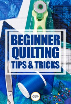 Whether you want to make a large scale bed quilt or a small sized wall hanging, this class will take you through everything you need to know for beginner quilting.