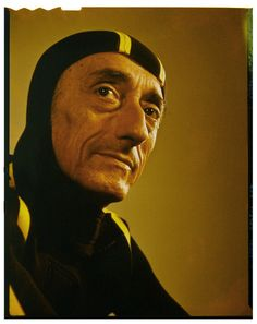 Jacques Cousteau :: used to watch him on TV when I was young...helped to instill a love of animals & the environment