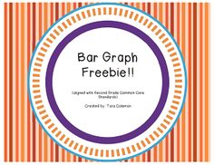 *FREE* This product is aligned with and used as an extension of bar graphs. I use these items as a quick warm up. Graphing Activities, Math Worksheets, Math Resources, Numeracy, Common Core Writing, Common Core Math, Second Grade Math, Grade 2, Fourth Grade
