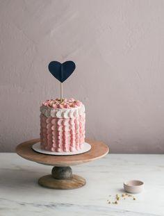 Pistachio Strawberry Elopement Cake – A Cozy Kitchen