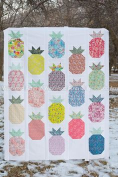 Hospitality Pineapple Quilt Kit