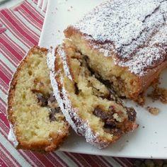 Italian Cake, Italian Desserts, Plum Cake, Poke Cakes, Sweets Cake, Healthy Cake, Food Humor, 4 Ingredients, No Bake Cake
