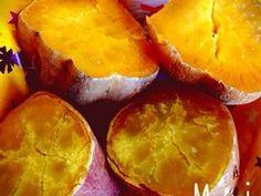 レンジで簡単♩ねっとり甘い焼き芋の画像 Sweet Potato, Potatoes, Vegetables, Recipes, Food, Vegetable Recipes, Eten, Veggie Food, Recipies