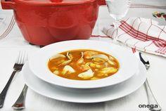 Sopa de pescado vasca