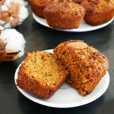 Sweet potato cake muffins ou muffins à la patate douce et carrot muffin