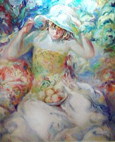 """Original Painting """"Fue Un Instante"""" by  Royo"""