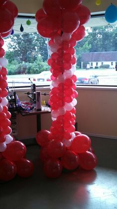 Balloon columns. Balloon column.  #balloon-column #balloon-decor
