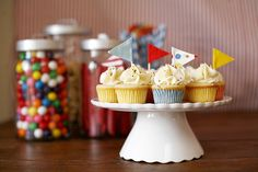 Circus party- maybe this would be good for Zeph's first birthday