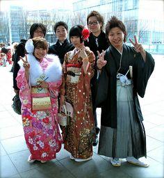 Kimono and Business Suits
