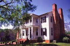The Brown-Stetson-Sanford House located in Milledgeville, Georgia.  www.oldcapitalmuseum.org