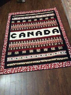 Canada fabric quilt