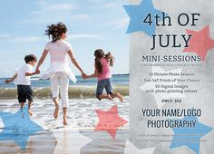 Along with the new Photobacks.com, we'll release some very cool 4th of July templates this week, including new Mini-Session marketing templates! Stay tuned!