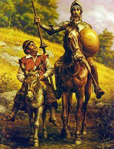 Don Quijote y Sancho Panza #Guanajuato #Helguera #ElQuijote