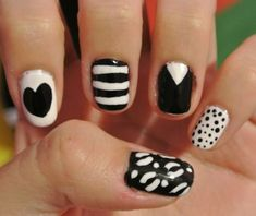 Black and white!!! Always so cute and I love to wear black or white just by themselves. The designs are always fun, especially dots or stripes, and they always catch people's eye.