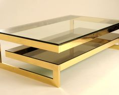 Gold G Table Version its a bit late but table for master bed?