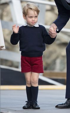 Prince George Said Farewell to Canada in the Most Adorable Way Possible