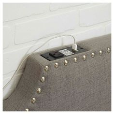 Powered Headboard - Twin - Silverwood Products : Target
