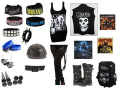 """band outfit"" by punk-jay ❤ liked on Polyvore"