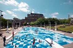 The Pool, Place Émilie-Gamelin Montreal by NIPpaysage