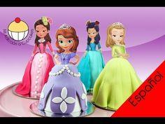 Hola amigos en este video les enseño a hacer a la princesa sofia , en Fomi. para los moldes, hay que ver la segunda parte, al final dice donde los encuentran.