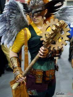 fun The Hawk girl cosplay