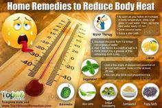 Top 10 Home Remedies to Reduce Body Heat Naturally