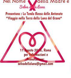 Roma,Luna del Grano, Nel Nome della Madre e Selva della Luna  Seminario Viaggio nella Terra delle Grandi Madri