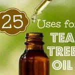 25 Uses for Tea Tree Oil