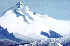 Nicolai Roerich - Himalayas 15, 1938