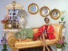 Image detail for -doll dioramas featuring barbie silkstone and fashion royalty dolls ... by bethany