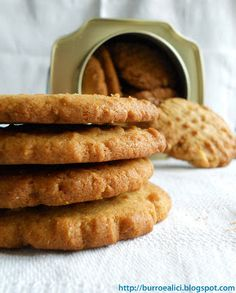 Ricetta Biscotti al burro d'arachidi (Peanut Butter Cookies)