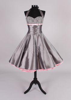 50s petticoat dress item jolie grey by atelierbellecouture on Etsy, €119.00
