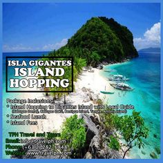 ISLA GIGANTES ISLAND HOPPING TOUR Minimum of 2 persons  For more inquiries please call: Landline: (+63 2)282-6848 Mobile: (+63) 918-238-9506 or Email us: info@travelph.com #Iloilo #Philippines #TravelPH #TravelWithNoWorries Travel Agency, Manila, Philippines, Tours, Island, Water, Outdoor, Gripe Water, Outdoors