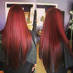 Long red hair (one day my hair will look like this)