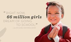 #Global Monitoring Report #education #girls