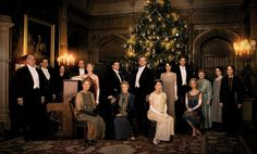 Happy Christmas 1924, from the Crawley family at Downton Abbey!
