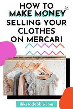 Read this full review of the reselling app Mercari and how much you can make selling clothes and other items on the app #resellercommunity #resellonline #onlinereseller #sidehustle