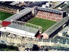 Tynecastle park Edinburgh, home of Heart of Midlothian fc