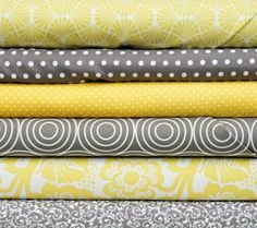 Love greys and yellows! Can't wait to make one with these colors