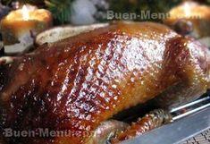 Receta de pato al horno