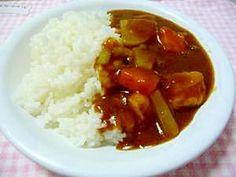 """""""Japanese style   A Japanese radish curry * dried bonito is secret seasoning """"和風 大根カレー★かつお節が隠し味/カレーライス"""